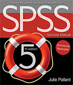 The SPSS Survival Manual 5th edition
